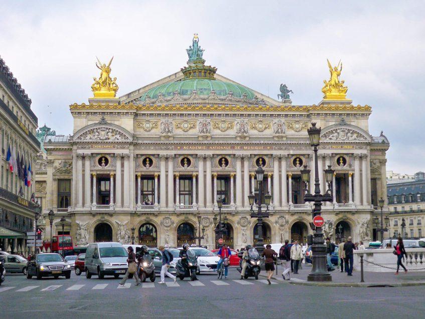"""Парижката опера """"Пале Гарние"""""""