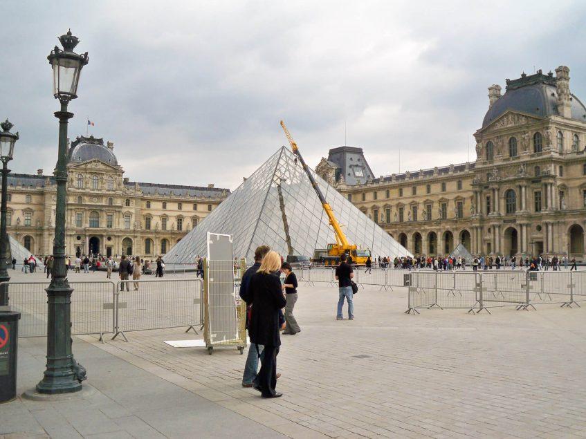 Лувъра - Париж, Франция