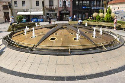 Фонтан в центъра на Битоля