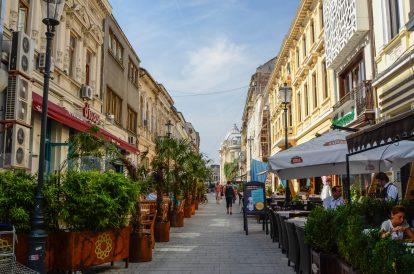 Кокетни улички в центъра на Букурещ