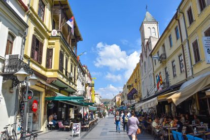 Из централните улици на Битоля