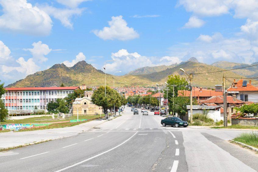 Гледка от град Прилеп