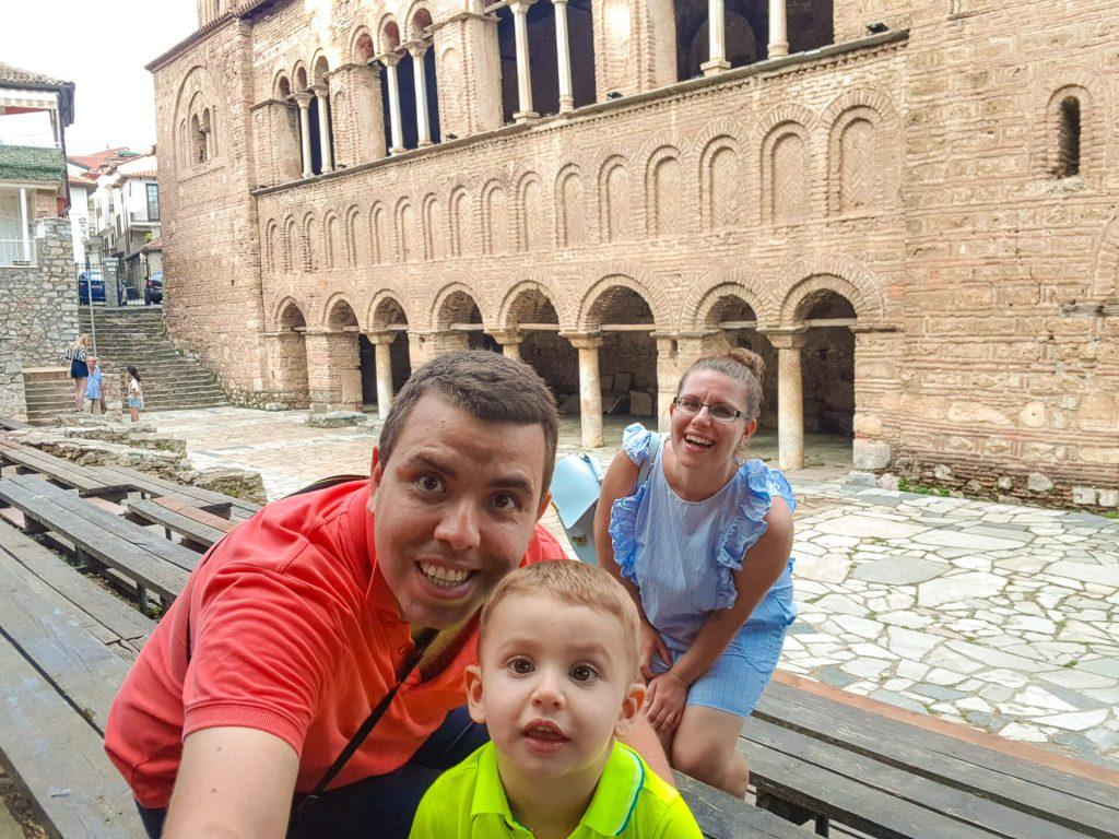 Старият град в Охрид