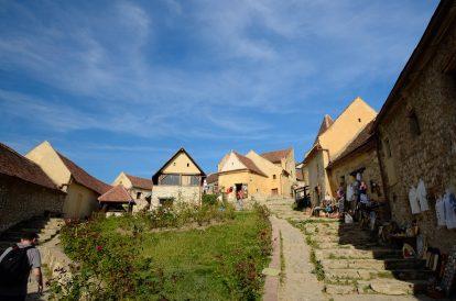 На разходка из Крепостта Ръшнов
