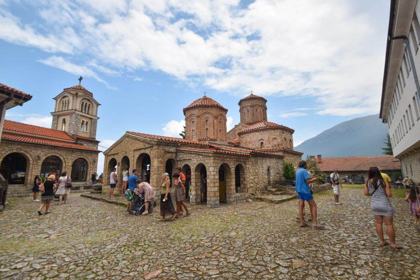 """Манастирът """"Свети Наум"""" в Охрид"""