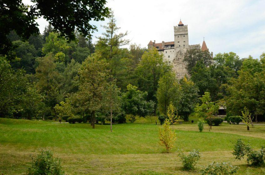 Замъкът на граф Дракула в Бран