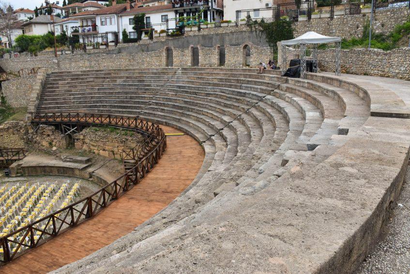 Античен театър в Охрид