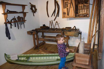 Лодка в Тутраканския музей